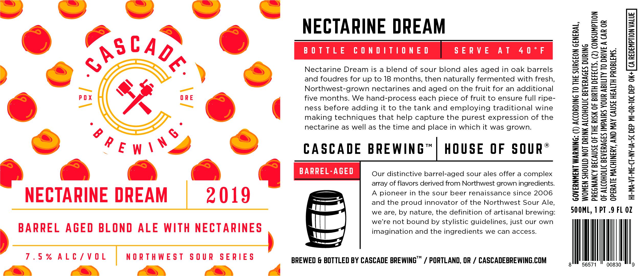 Nectarine Dream 2019